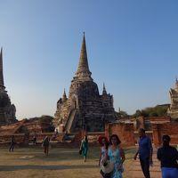 微笑みの国タイ? バンコク、アユタヤ、水上マーケット観光。今日は、アユタヤ遺跡とバーンパイン離宮(夏離宮)への観光です。 (3日目)