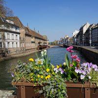 パリ〜アルザス・ドライブ #1 - 春のストラスブール「街道の町」を満喫!