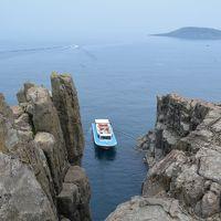 風薫る5月の日本を行こう!�福井県、静かなる日本海、東尋坊。滋賀県、堂々たる彦根城。