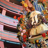 夏は『博多祇園山笠〜』おまけに福岡上空ブルーインパルス