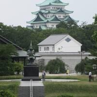 名古屋城と徳川庭園と科学博物館