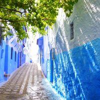 モロッコ・スペイン旅行6※美しく青き家並みシャウエン