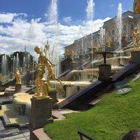 ヘルシンキ&サンクトペテルブルク 半分一人旅 6泊8日/�ペテルゴフでロシアの夏を満喫