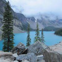 【レンタカーなし旅】早朝モレイン湖ツアー&レイクルイーズゴンドラでハイキング