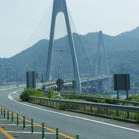 4トラの日本地図塗りつぶし瀬戸内海沿岸の旅: しまなみ海道→ 今治