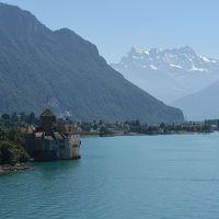 スイス・イタリア旅行2016 (2)   シヨン城ハイキング & レマン湖フェリー