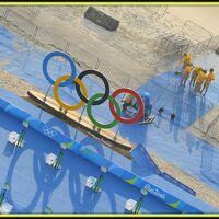 2016年リオデジャネイロ・オリンピックに足跡つける(リオデジャネイロ/ブラジル)