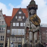 2016GW 初の中部〜北ドイツ 【15】ブレーメンその1 マルクト広場周辺