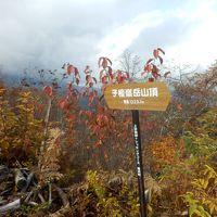 子壇嶺岳登山と観紅葉