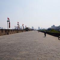 西安1週間お盆休みの旅(5)西安城壁をサイクリング