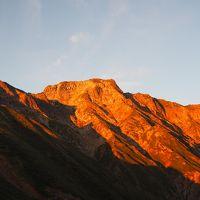 五竜岳 一夜開けたら絶景に♪ 遠見尾根から