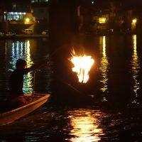 天領日田の舟遊び