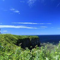 絶景と食を求めて夏の道東めぐり (4)女満別のひまわり畑と能取岬の紺瑠璃の海