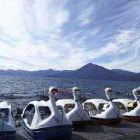 札幌に遊びに来た母と 札幌散策?支笏湖