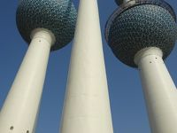 (36)2016年年末年始アラビア半島5か国の旅9日間(6)クウェート(サドゥ・ハウス 国立博物館 スーク(ムバラキヤ) グランド・モスク ダウ船 魚市場 スーク・シャルク クウェート・タワー)