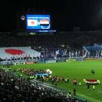 ワールドカップアジア最終予選 イラク戦観戦とサンシャイン59Fで優雅なランチタイム