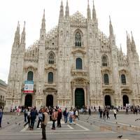 電車、バスでイタリア、スイス、フランス一人旅(1)ミラノ