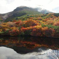 紅葉を愛でに那須岳へ / 職場の仲間と