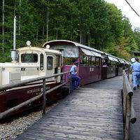 御岳ロープウェイ&赤沢森林鉄道を楽しむ