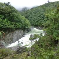 母とのんびり湯治旅・その2 湯西川温泉と龍王峡散策。