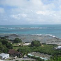 2016沖縄旅行 観光バスで沖縄南部半日観光へ。