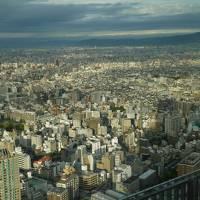 2016年秋の旅行 お泊りはあべのハルカス・大阪マリオット都ホテルです