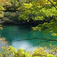 みちのくの古代巡りとちょい紅葉の旅(二日目)〜角館武家屋敷の紅葉は人間の営みを感じる屋敷林だからこその美しさ。秋晴れの抱返り渓谷は、裏もみじの先に見える不思議な川の青さが見どころです〜