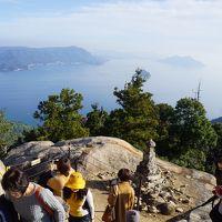紅葉谷公園から弥山山頂まで〜弾みで登り始めただけなのに、やっぱりしんどい弥山登山。しかし、安芸の宮島は弥山に登ってこそ見れる絶景も大きな魅力の一つです〜