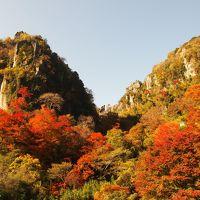 耶馬渓 一目八景の紅葉は満開で 絶景の旅でした〜。