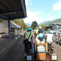 2016年10月飛騨古川・神岡 神岡でレールマウンテンバイクガッタンゴー