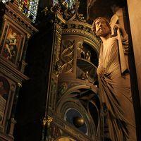 2016年 ゆめちゃんの卒業旅行inドイツ&フランス13 TGVに乗ってフランクフルトからストラスブールへ〜ストラスブール大聖堂とちょこっと散歩〜