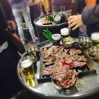 【庶民旅2016】ソウルで4人の食べたいものをひたすら食べる旅(☆´3`) たまにショッピング、さらにたまに散歩