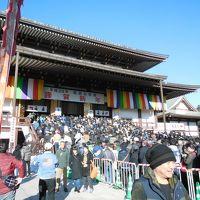 2017年元旦に成田山新勝寺を高速初詣し、「モーゼの海割り」の奇跡を目撃しました!