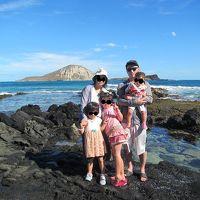 三姉妹を連れて行くハワイ 1人はこだわり自閉ちゃん その2:チャーターツアー(2日目)