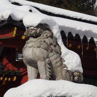 冬の日光詣*二荒山神社中宮祠*中禅寺湖