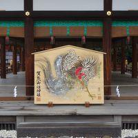 下鴨神社にお参りし,出町ふたばの行列に加わる。どっちが本命か。