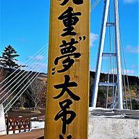"""九重""""夢""""大吊橋 展望台で折り返し(復路) ☆10周年で100万人達成間近に"""