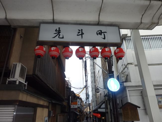 京都先斗町でグルメランチとスイーツを堪能しました。<br />グリル開陽亭 http://www.kaiyoutei.com/<br /><br />食通の芸能人、御用達のお店でもあります。<br />先斗町は、敷居が高そうに見えるが、庶民が安心して通えるお店が多いです。<br />ランチは大体3千円から4千円位で、ディナーは1万円までで充分行けます。<br />濃厚なビーフのコンソメスープ、ミニサラダ、牛タンのビーフシチューは絶品!オムライスは少しほろ苦いデミグラスソースで大人の味です。<br />川床もあり、別料金で¥300円の場所代が掛かります。<br />行きは電車で帰りは徒歩にて、色んな所を見て回りました。<br /><br />渉成園 http://higashihonganji.or.jp/worship/shoseien/<br /><br />京都の介護タクシー http://kaigotaxi-info.jp/top_586.html<br /><br />京の冬の旅 https://kyokanko.or.jp/huyu2016/