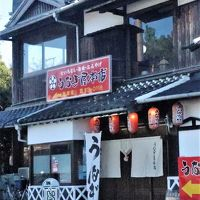 柳川1/3 うなぎ屋本店 せいろ蒸しの昼食 ☆久留米絣会館で買物