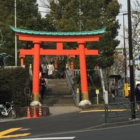 早稲田大学周辺の神社近くを散策