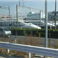 バスタ新宿から,横浜経由,掛川で休憩,名古屋まで,バスの旅。