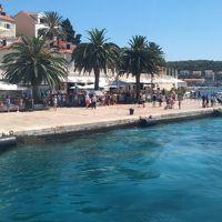 16年夏休み〜クロアチア周遊二週間プラスαの旅★07 どこまでも蒼い海が続くフヴァル島
