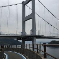ママチャリで行く(笑)しまなみ海道□前編 小倉〜今治・来島海峡大橋と大島