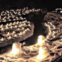 湯西川温泉 かまくら祭りと雪遊び