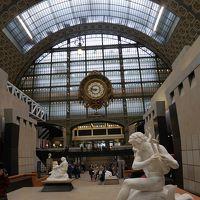 やっぱりパリが好き!20年ぶり母子パリ旅行� 今日も芸術鑑賞 オルセー美術館
