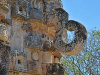 冬のメキシコ旅行(8)−マヤパン遺跡 & カバー遺跡−
