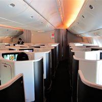 JAL 日本航空 ビジネスクラス スカイスイート� [羽田→香港] 黄熱病予防接種を受け、いざ参らん!  南アフリカ・ザンビア・ジンバブエ 1