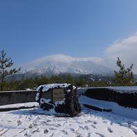 宮崎・鹿児島グルメツアー 4日目 積雪12cm。大雪の鹿児島。