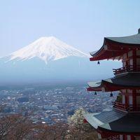 春の富士山一周ドライブ