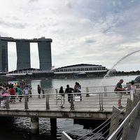 17年ぶりのシンガポール【1】(2017/4/4)移動日、(4/5)マリーナ・ベイ一周・富の泉・サンテックシティ・ガーデン・バイ・ザ・デイ